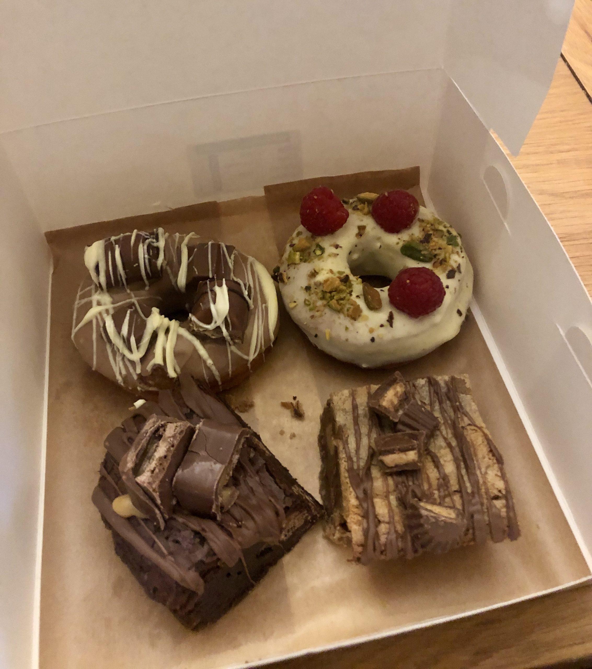Rebel Doughnuts box