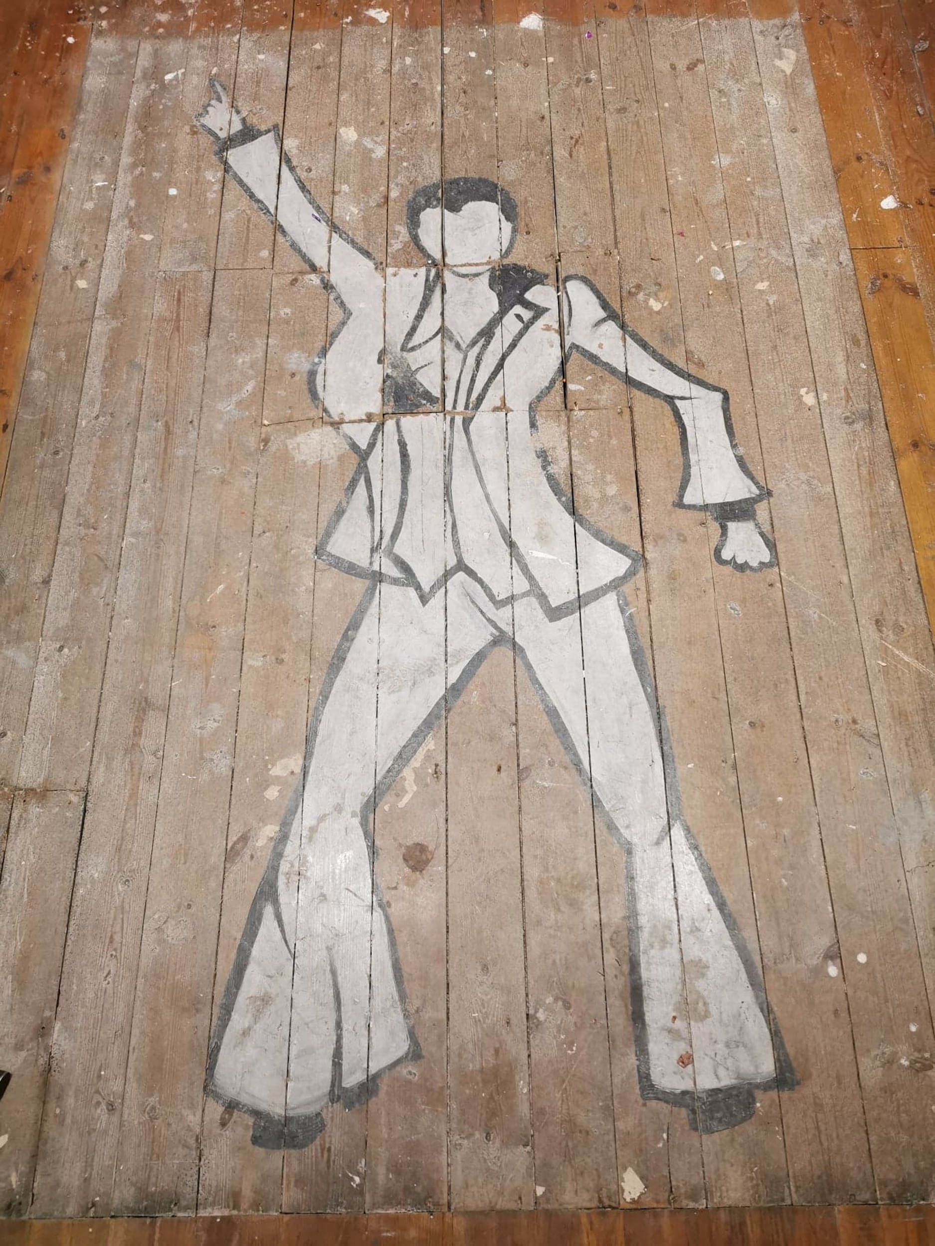 Saturday Night Fever drawing