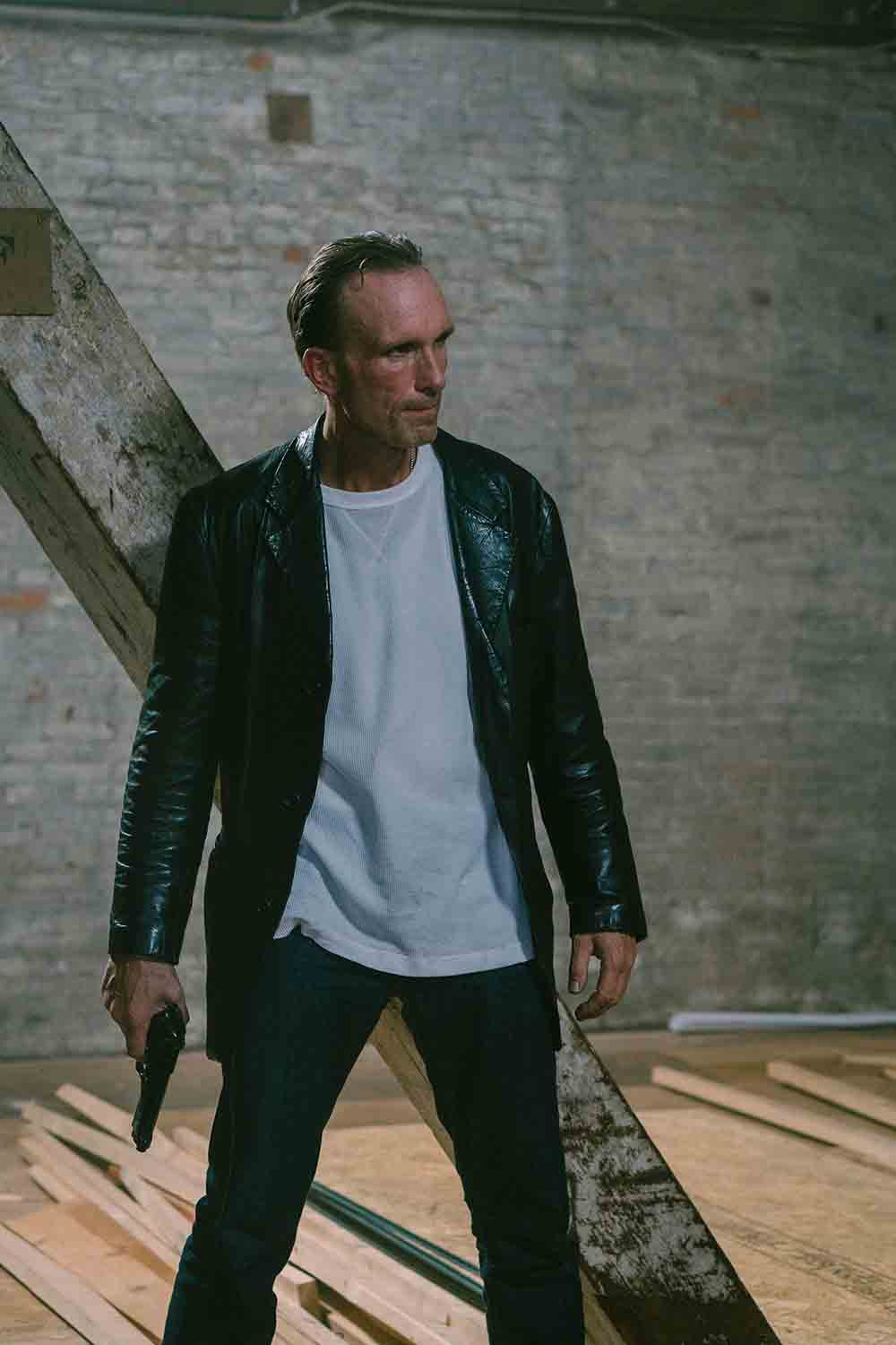 In action, Pulp Fiction actor Peter Greene on the set of new flick - Entertainment News