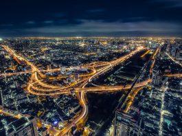 city and night