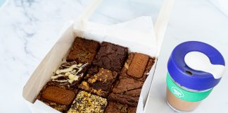 Social Bites festive brownies - Food and Drink News Scotland