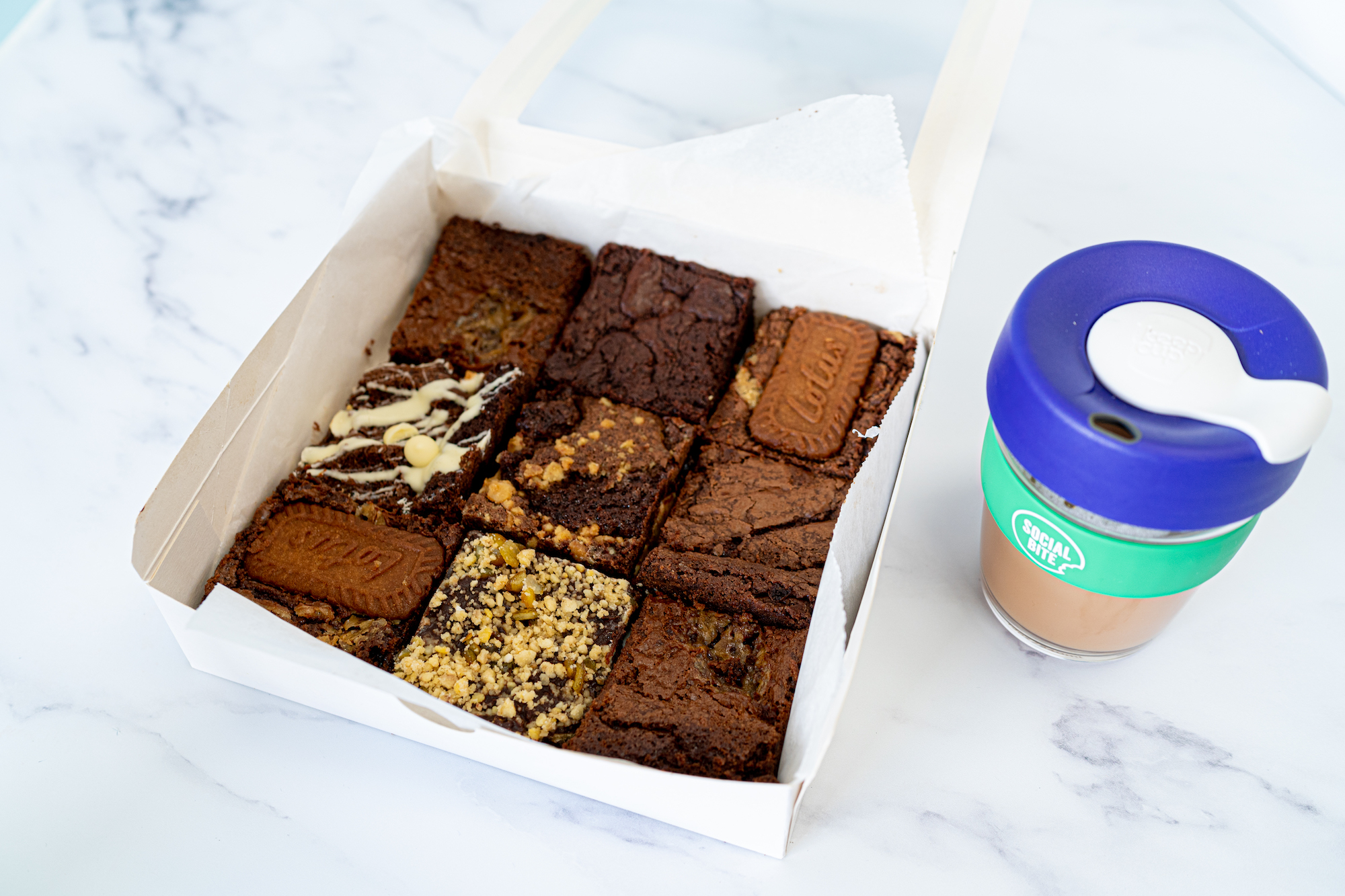 Social Bites festive brownies - Food and Drink News Scotland