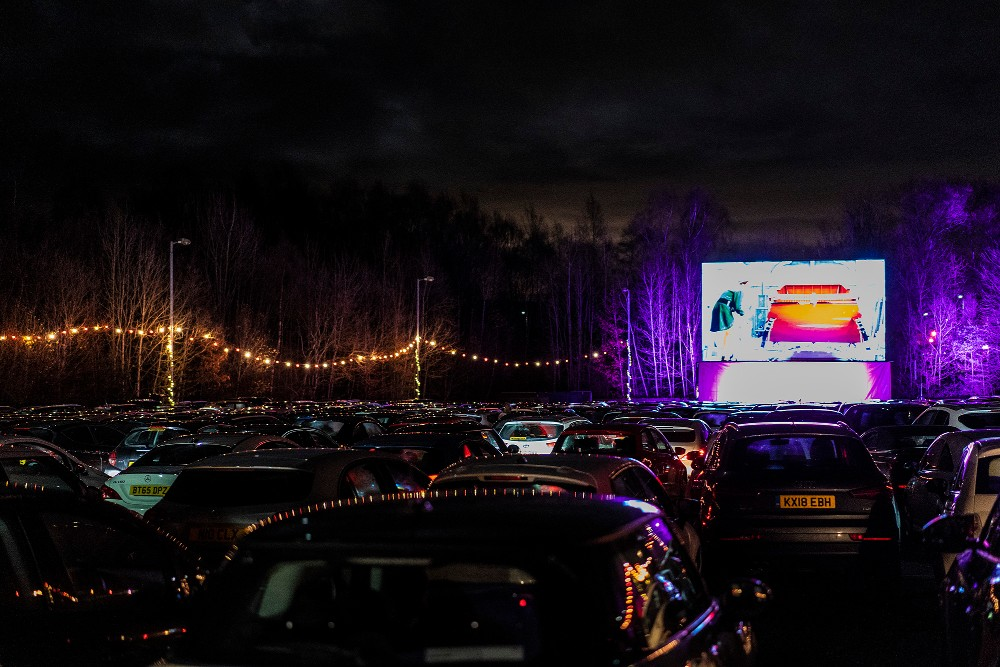 A picture of a drive in - Entertainment News Scotland