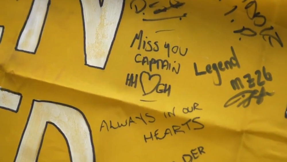 A Lithuania jersey is left outside Tynecastle for Marius Zaliukas | Hearts news