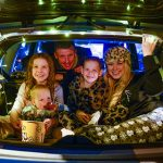 An image of a family inside a car for Itsion's drive in - Entertainment News Scotland