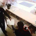 Phone stolen on CCTV