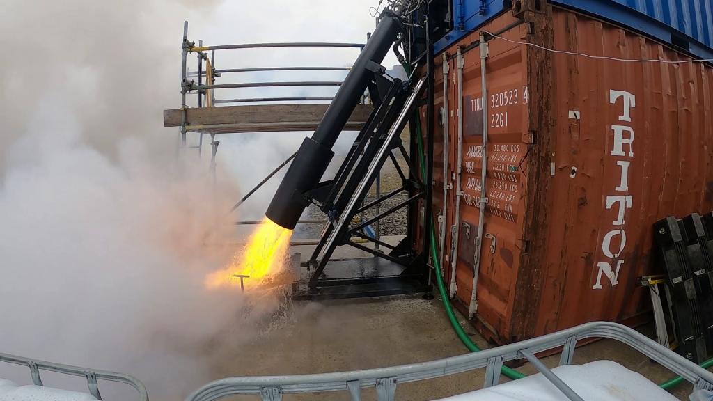 vacuum chamber engine tests 2, Skyrora