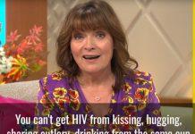Lorraine Kelly HIV Scotland campaign