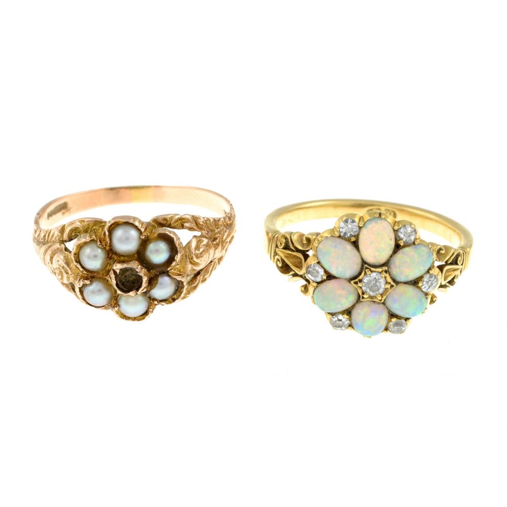 A victorian opal and diamond cluster ring - Business News UK