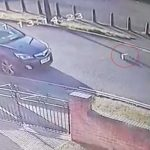 Parcel abandoned on road after being kicked by delivery driver