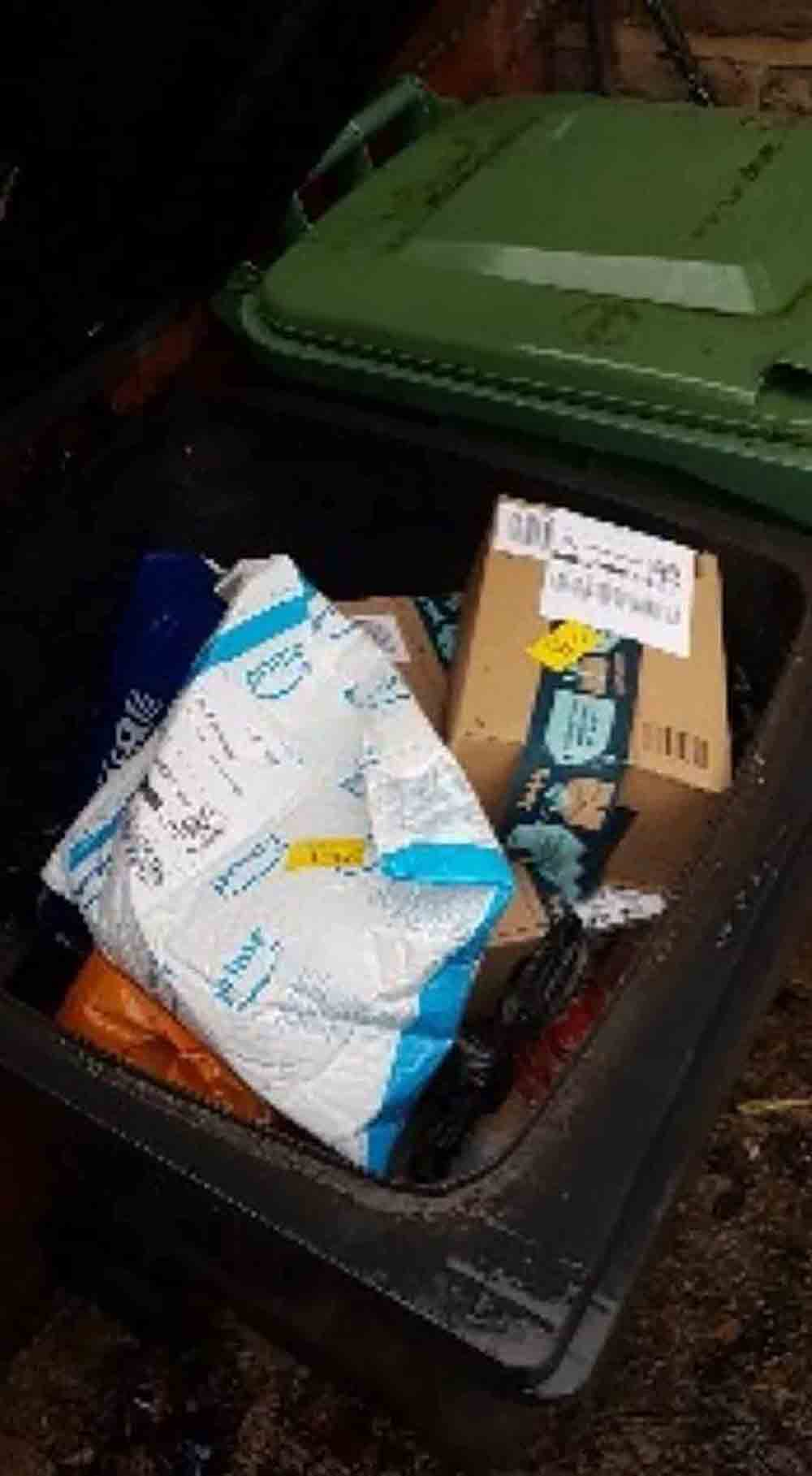 Amazon delivery driver leaves christmas presents in bin - which is then emptied - Consumer News UK