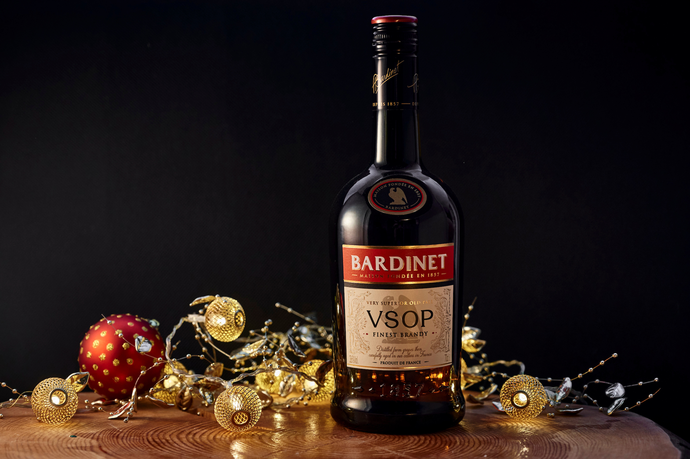 bardinet christmas bottle - Food and Drink Scotland