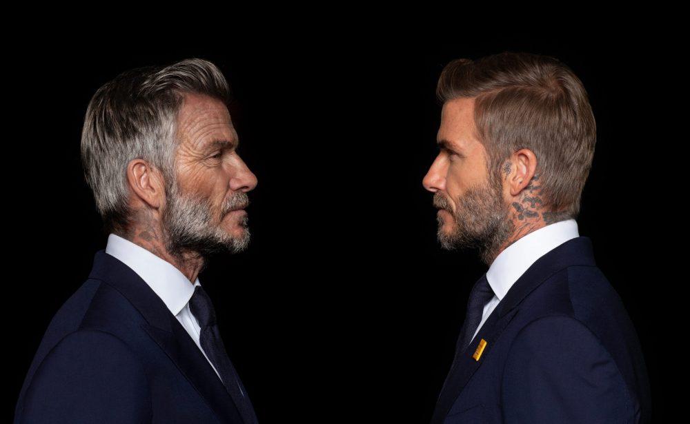 David Beckham looks art his older self - Health News UK