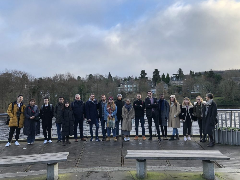 The student team from the University of Dundee - Scottish News