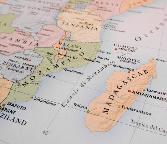Madagascar map - Research News Scotland