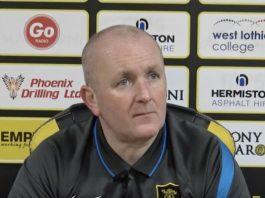 Livingston manager David Martindale | Livingston news