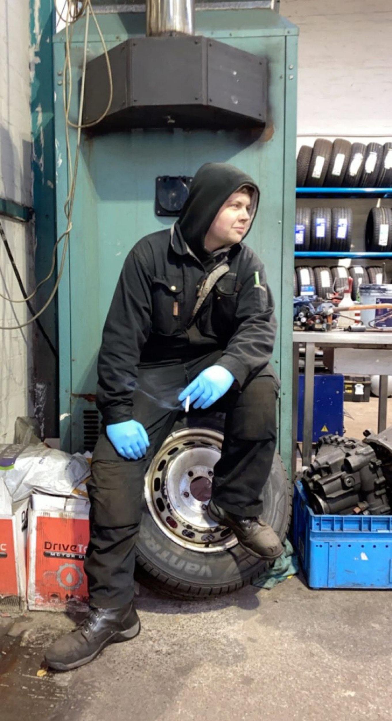David Wilson mechanic - Viral News Scotland