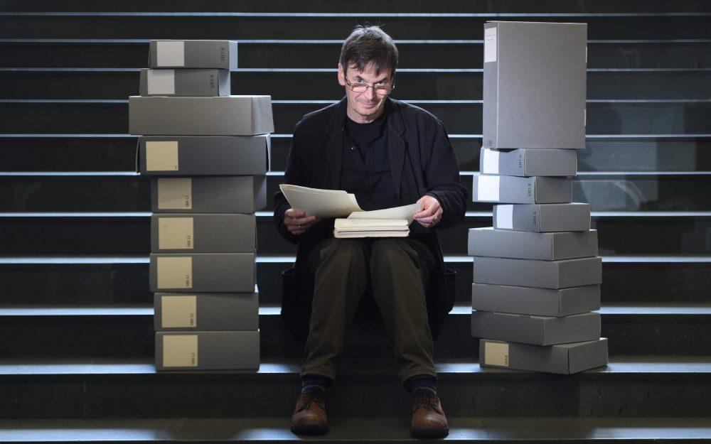 Ian Rankin and his archive - Scottish News