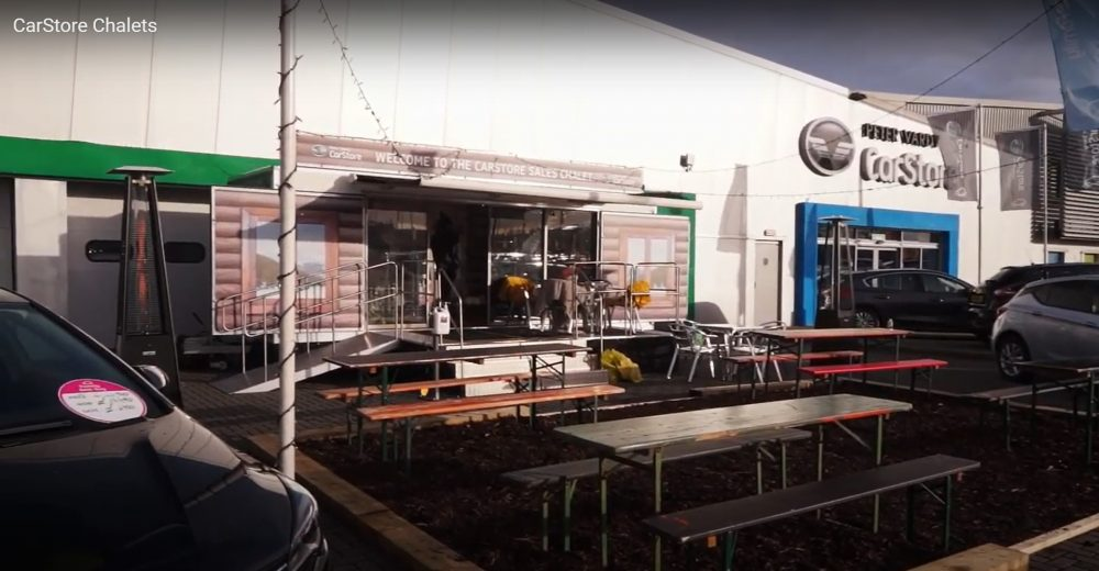 PV Chalet in CarStore Glasgow - Business News Scotland