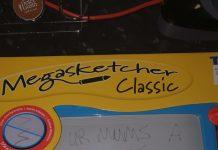 Megasketcher toy