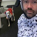 Paul Gallagher and his Dalmatian Max - Viral News Scotland
