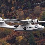 Cataline flies over Loch Ness - Scottish News