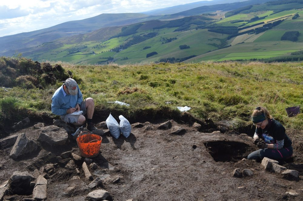 Tap o' Noth dig -Research News Scotland
