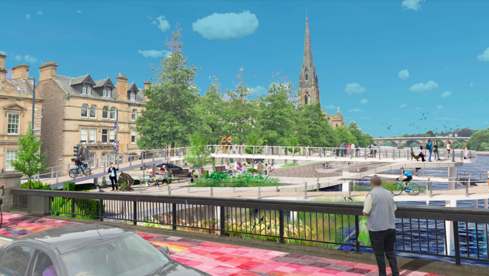 Urban waterfront by The University of Dundee students. -Scottish News