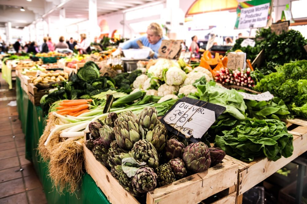 A shop full with vegetables - Research News UK