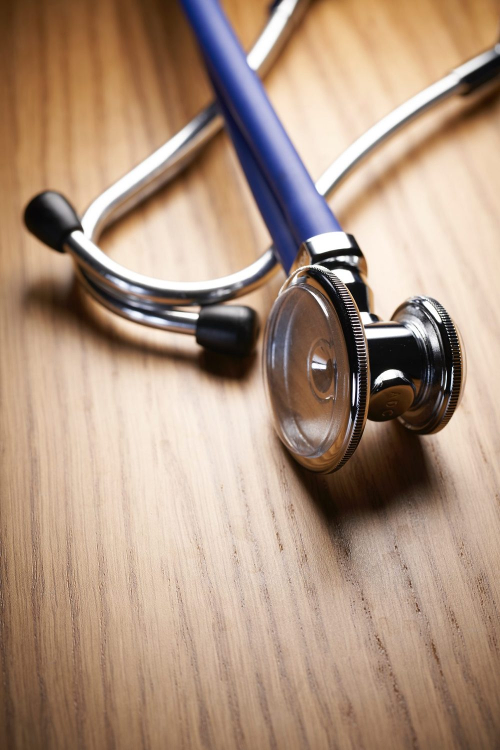 A stethoscope on a table - Research News Scotland