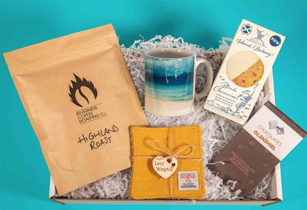 Scottish Business starts selling gift boxes in time for Christmas season to promote local business - Business News Scotland