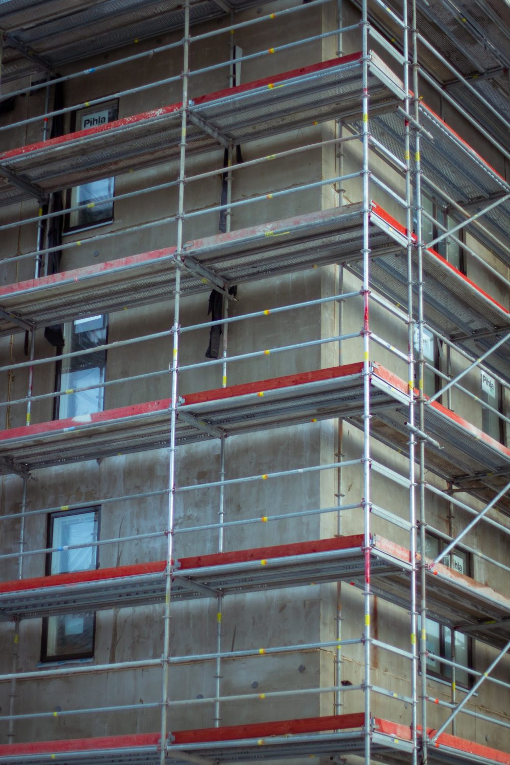 An image of scaffolding