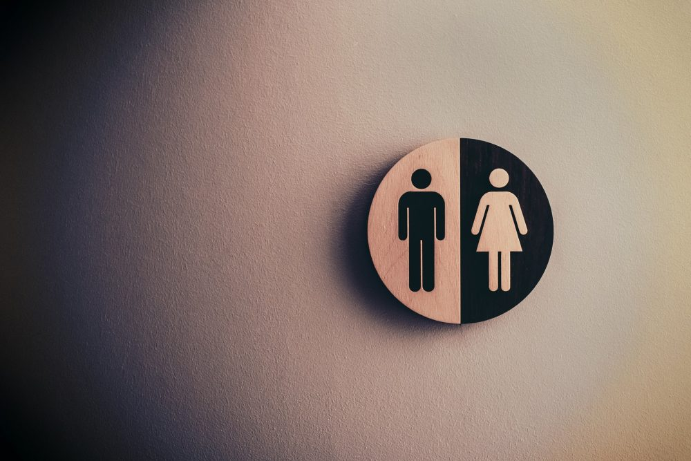 A picture of a men and women's bathroom - Research News UK