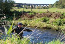 A man angling - Scottish News