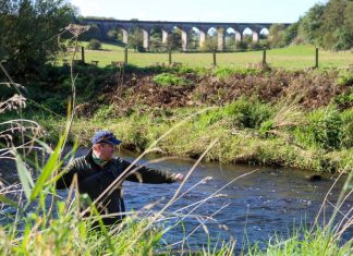 A man angling - Scottish News