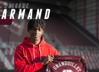 Armand Gnanduillet signs for Hearts | Hearts news