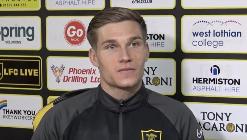 Gavin Reilly has signed an 18-month deal with Livi | Livingston news