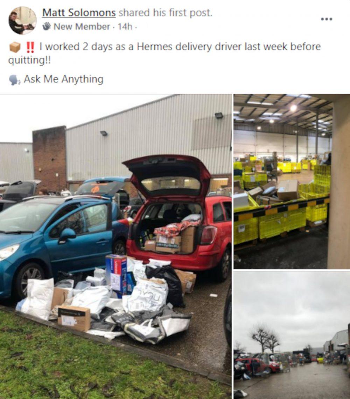 Hermes courier post - Consumer News UK