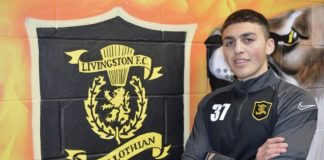 Jaze Kabia, 20, is seen a prospect for the future | Livingston news