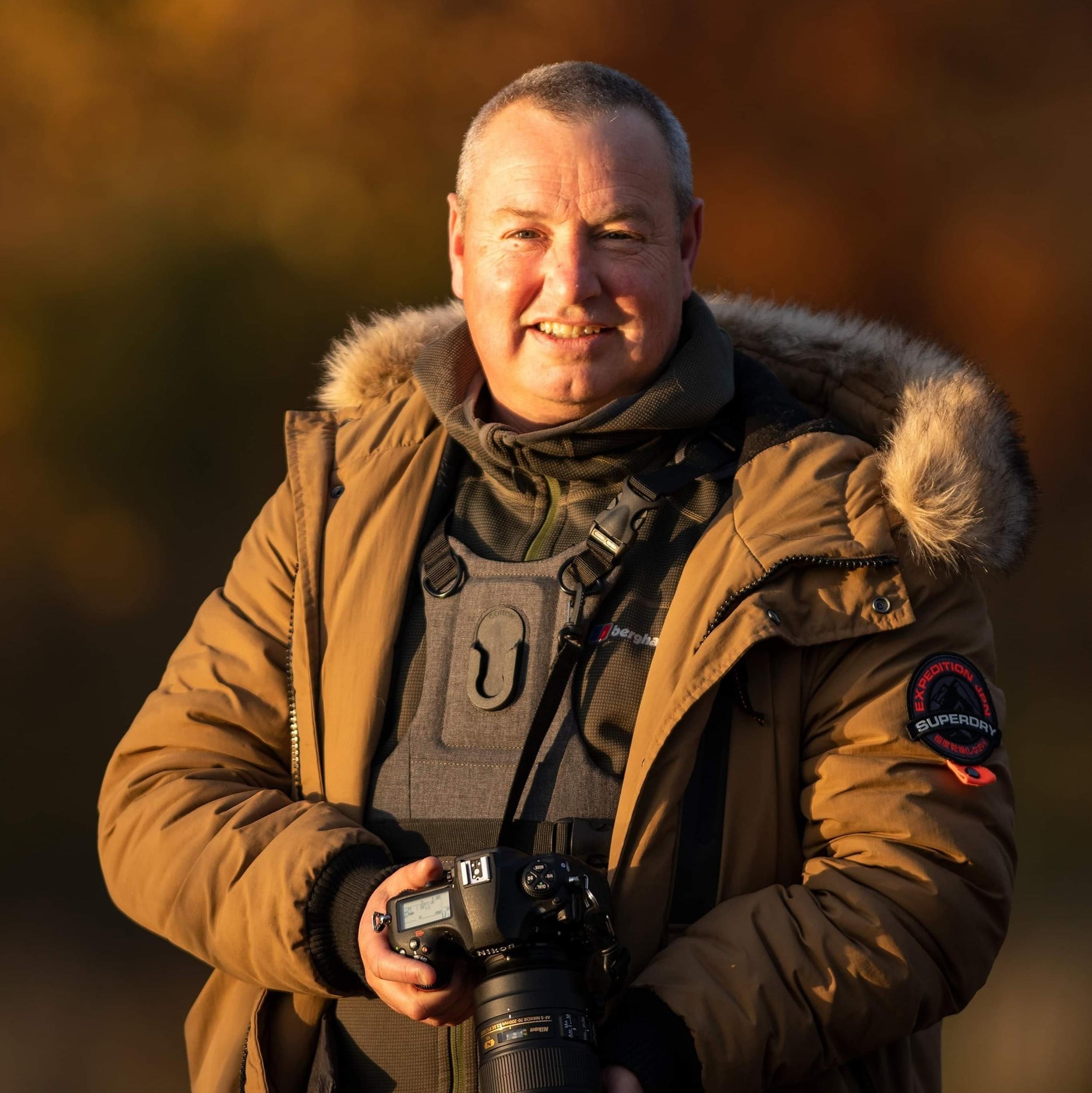 Derek McSwan - Kingfisher photographer