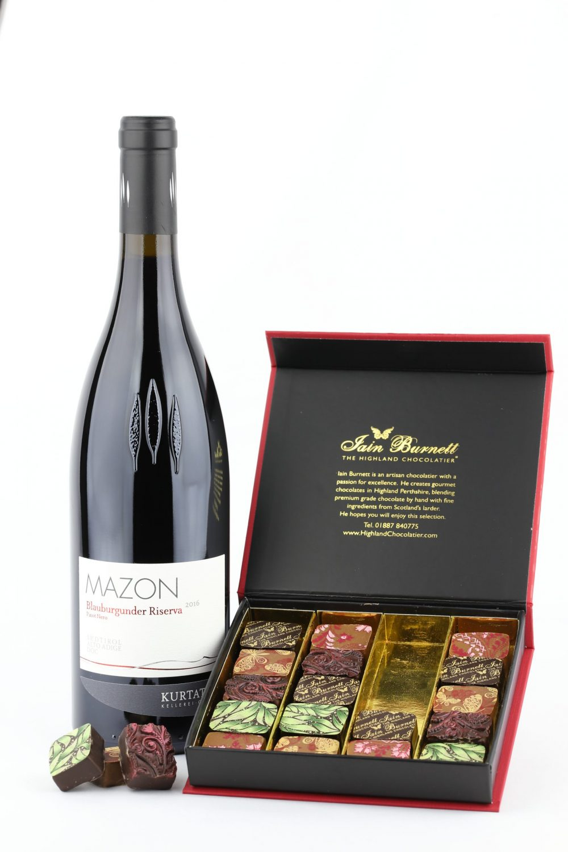 Kurtatsch Mazon Pinot Noir with Velvet Truffles - Food and Drink News Scotland