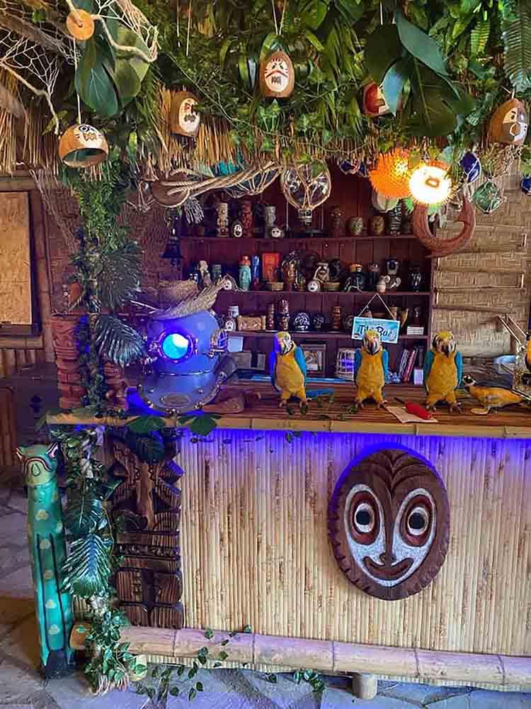 Man spends £20,000 creating a tiki bar in his back garden - Viral News UK