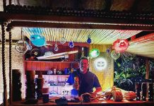 Man spends £20,000 creating a tiki bar in his back garden - Viral News UK