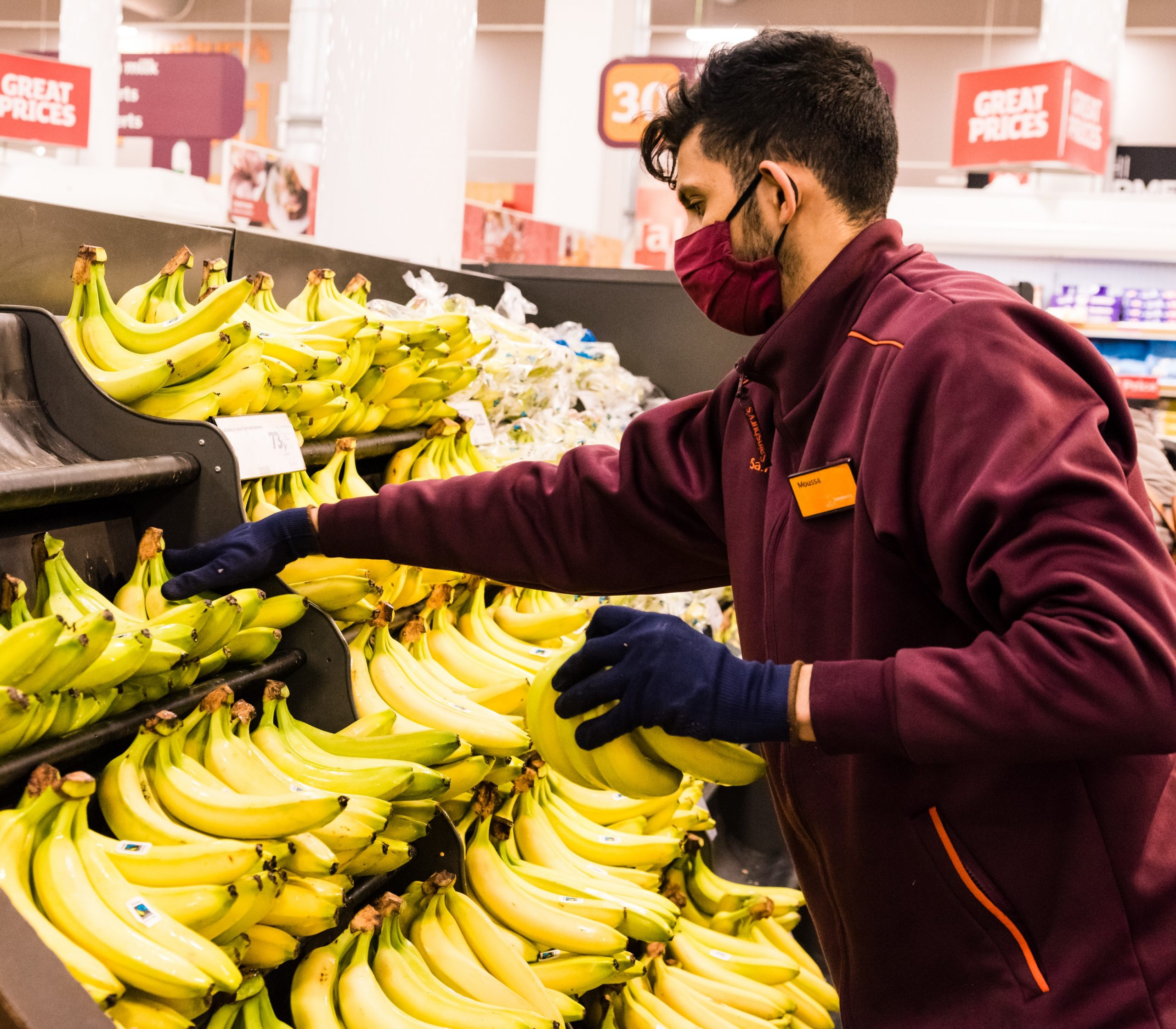Sainsbury's was pleased with strong Christmas results and pledged to prioritise staff and customers safety