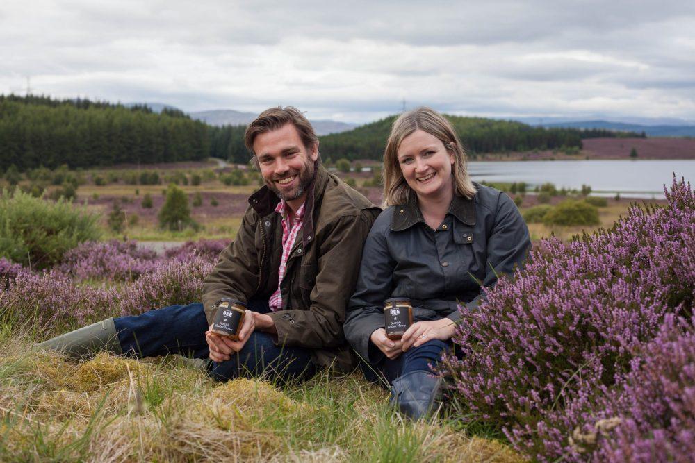 Suzie & Iain Millar Scottish Bee Company - Food and Drink News Scotland