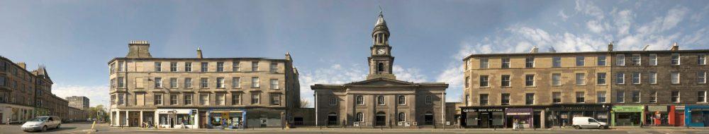 The Queen's Hall - Clerk Street Panorama - Business News Scotland