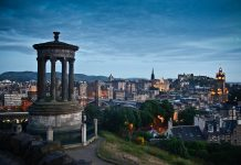 A picture of Edinburgh - Scottish News