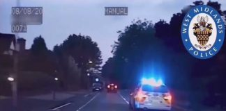 WMP chase stolen car - Dashcam Clips