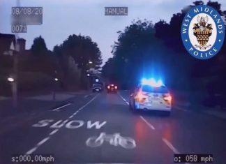 WMP chase stolen car - Dashcam Clips