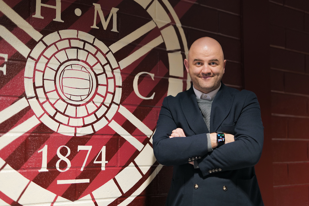 Joe Savage is unveiled as new Hearts sporting director | Hearts news